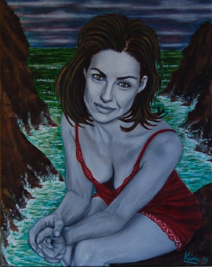 Oil Painting > Age of Reason ( Ashley Judd )
