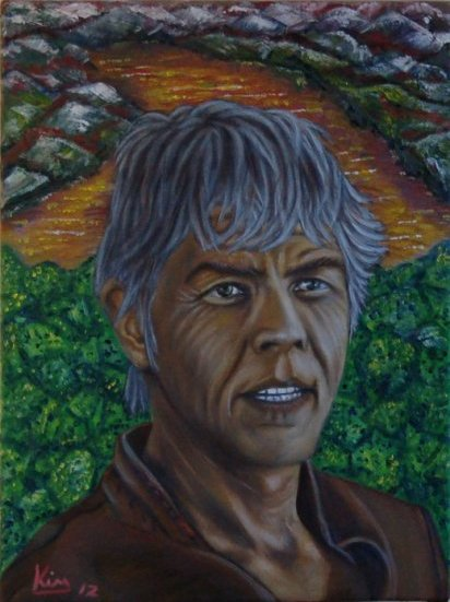 Oil Painting > Chocolat Diarize ( James Coburn )