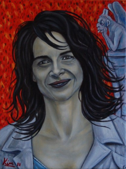 Oil Painting > French Connection ( Juliette Binoche )
