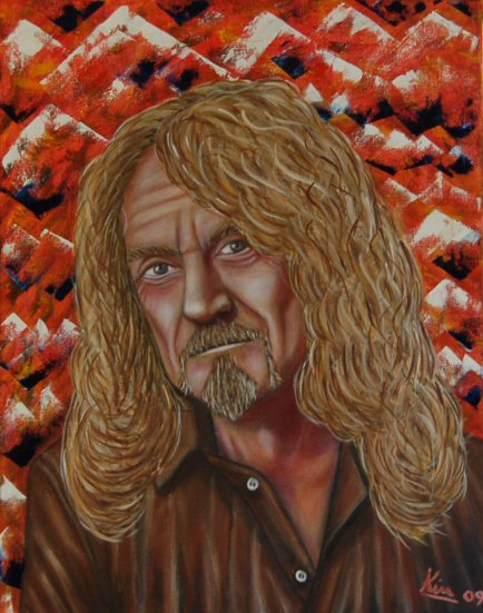 Oil Painting > Jelly Jelly ( Robert Plant )