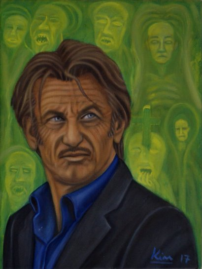 Oil Painting > Last Dance > Sean Penn