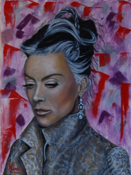 Oil Painting > North Star ( Daphne Guinness )