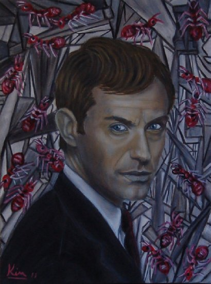 Oil Painting > Red Alert ( Jude Law )