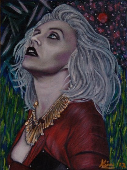 Oil Painting > Reflection ( Debbie Harry )