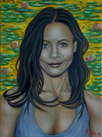Oil Painting > Sundance ( Thandie Newton )