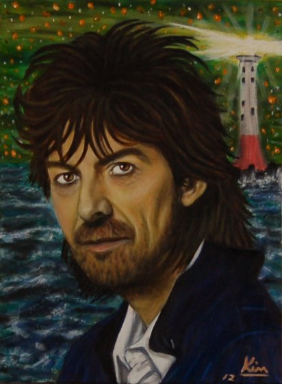 Oil Painting > Transmission ( George Harrison )